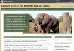 Cornell Center for Wildlife Conservation